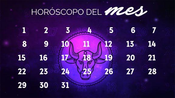 Horóscopo Tauro mensual- taurohoroscopo.com