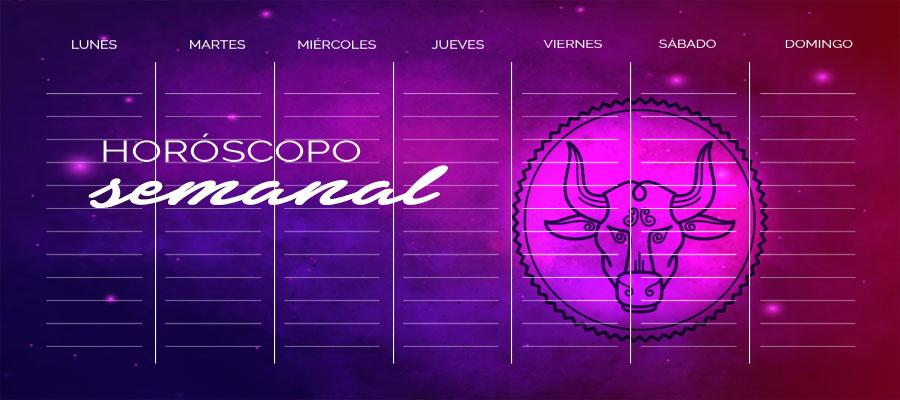 Horóscopo Tauro Semanal – Horóscopo de la semana Tauro